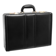 McKleinUSA DALEY Attache Case Black
