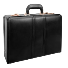 McKleinUSA COUGHLIN Expandable Attache Case Black