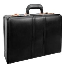 McKleinUSA COUGHLIN Expandable Attache Case Black