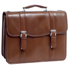 McKleinUSA FLOURNOY Double Compartment Laptop Case