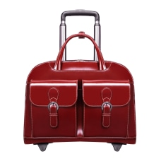 McKleinUSA Davis Briefcase Red