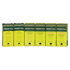 Bigelow Assorted Green Tea Bags Box