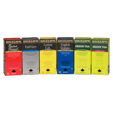 Bigelow Assorted Flavored Teas Box Of