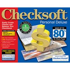 Avanquest Checksoft Personal Deluxe Windows