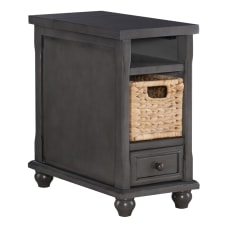 Powell Bryant Side Table With Basket