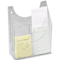 Eldon Multipurpose Organizer Clear