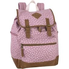 Trailmaker Front Loading Drawstring Backpack Pink