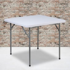 Flash Furniture Square Plastic Folding Table
