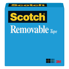 Scotch Magic 811 Removable Tape 12