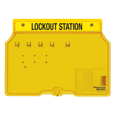 Master Lock Unfilled Padlock Lockout Station