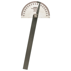 Stainless Steel Protractors 6 in Round