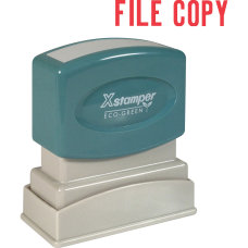 Xstamper One Color Title Stamp Pre