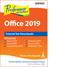 Individual Software Professor Teaches Office 2019