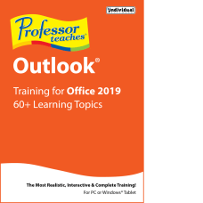 Individual Software Professor Teaches Outlook 2019