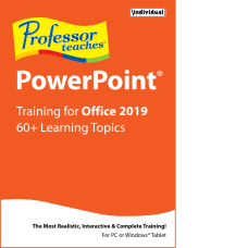 Individual Software Professor Teaches PowerPoint 2019