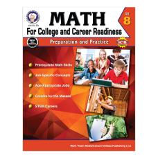 Carson Dellosa Math For College And