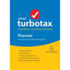 TurboTax 2019 Premier Federal Efile Download