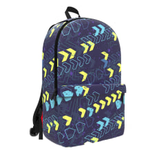 Space Junk Geometric Backpack With 15