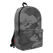 Space Junk Camouflage Backpack Gray