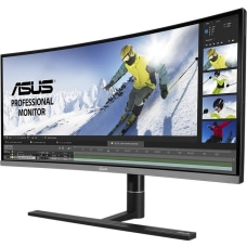 ASUS ProArt PA34VC LED monitor curved