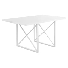 Monarch Specialties Alice Dining Table With