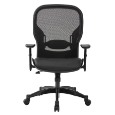 Office Star Space Seating MeshBonded Leather