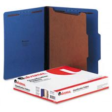 Universal 10201 Pressboard Classification Folder Letter