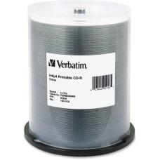 Verbatim Inkjet Printable CD R Disc