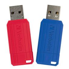 Verbatim 128GB PinStripe USB Flash Drive