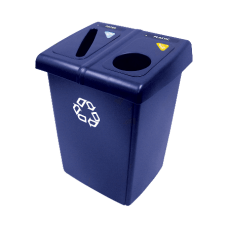 Rubbermaid Half Glutton Recycling Station 35