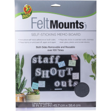 Duck Brand Felt Mounts Self Sticking