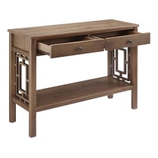 Linon Hesper 2 Drawer Console Table
