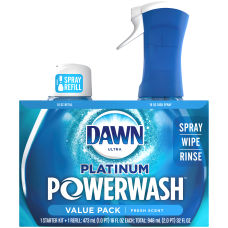 Dawn Platinum Powerwash Dish Spray Bundle