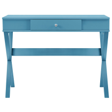 Ameriwood Home Paxton Campaign Desk Blue