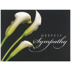 JAM Paper Sympathy Card Set Deepest