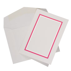 JAM Paper Small Stationery Set PinkWhite