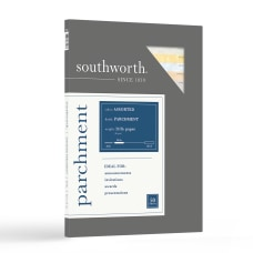 Southworth Parchment Specialty Paper Sampler 8