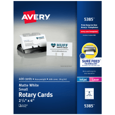 Avery Laser Rotary Cards 2 16