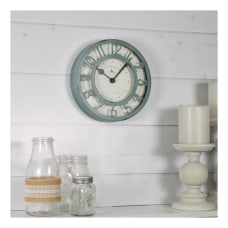 FirsTime Co Raised Plastic Wall Clock