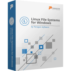 Paragon Linux File Systems for Windows