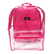 Dickies Deluxe Clear PVC Laptop Backpack