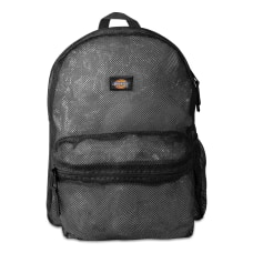 Dickies Mesh Laptop Backpack Black
