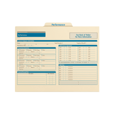 ComplyRight Performance Folders 11 34 x
