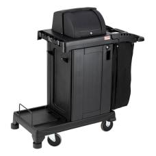 Suncast Commercial Plastic Cart High Security