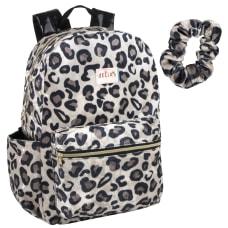Delias Fuzzy Backpack Leopard