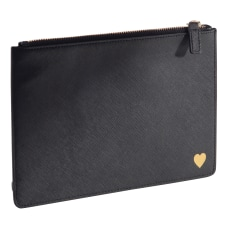 See Jane Work Faux Leather Pouch