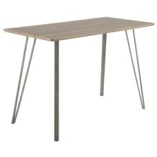 Lumisource Sedona Industrial Counter Table Rectangular