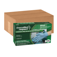 DiversaMed Powder Free Nitrile Exam Gloves