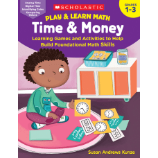Scholastic Play Learn Math Time Money