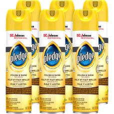 Pledge Lemon Enhancing Polish Spray 011